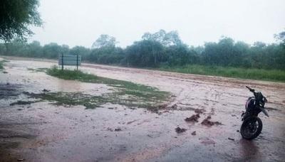 Emiten alerta por tormentas eléctricas para el  Chaco Paraguayo