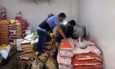 Decomisan más de 1.000 kilos de semillas ilegales en Itapúa y Boquerón