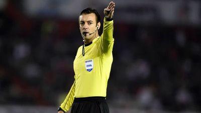 Los árbitros del segundo combo de la selección paraguaya