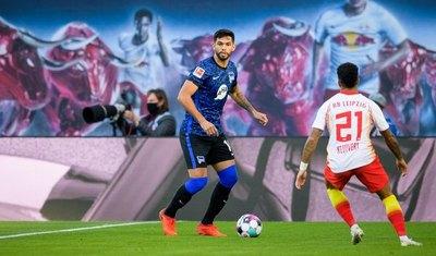 Los números de Alderete en su debut en la Bundesliga