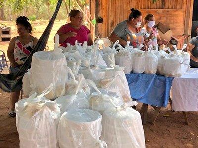 Unos 3.000 almuerzos fueron repartidos en Luque por la Oficina de la Primera Dama