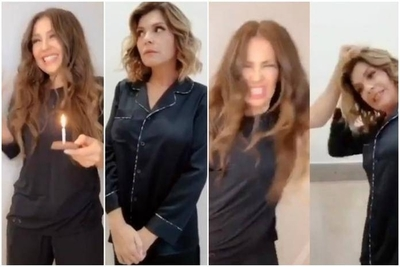 HOY / Thalía e Itatí Cantoral hacen un icónico reencuentro y recrean video viral