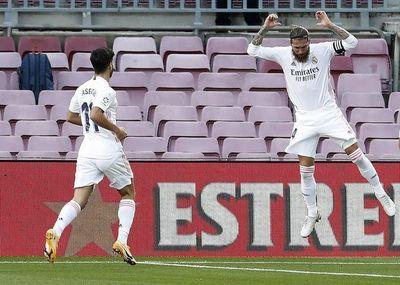 Real Madrid ganó el clásico español en el Camp Nou