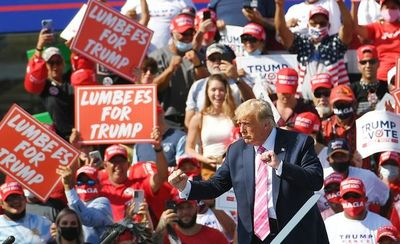 Trump emite voto anticipado en Florida y acelera la campaña sin perder el optimismo