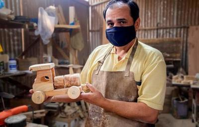 Más de 2 millones de juguetes de madera fueron construidos por interno de UPIE