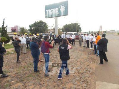 Luego de reapertura de frontera, trabajan en cumplimiento de protocolo en Pedro Juan