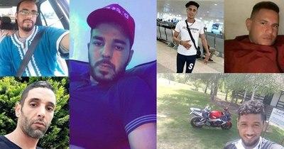 La Nación / En redes sociales reconocen a fallecidos dentro de contenedor