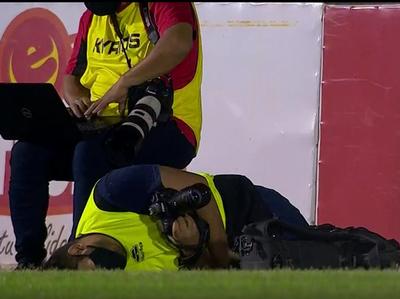 ¡Un fotógrafo terminó lesionado en el Parque del Guairá!