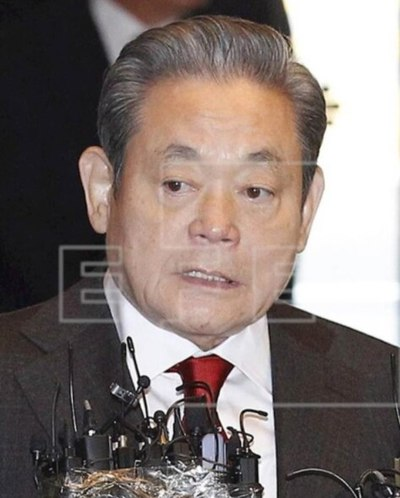 Muere el presidente de Samsung, Lee Kun-hee, la mayor fortuna surcoreana