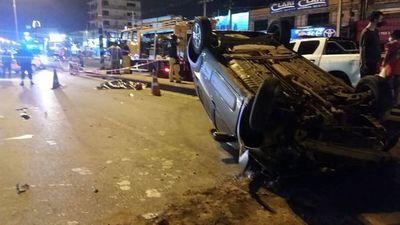 Motociclista fallece en accidente de tránsito en Mariano Roque Alonso