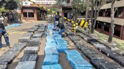 Narcocamión: Más de 10 toneladas de marihuana incautadas en Itapúa