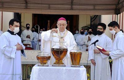 Arzobispo pidió retorno de la enseñanza escolar y que la salud no sea nuevo ídolo