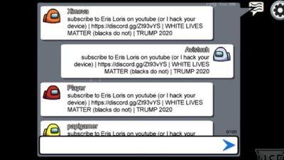 Eris Loris, el jugador pro-Trump de Among Us que hackea partidas