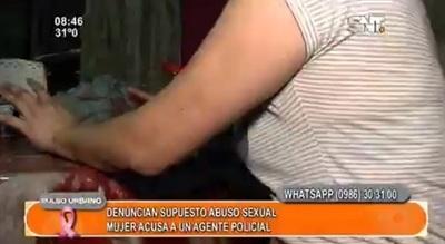 Mujer denuncia abuso sexual por parte de agente policial
