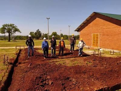 INICIA CONSTRUCCIÓN DE SANITARIOS Y VESTUARIOS EN EL PARQUE DE SALUD DE MIRANDA