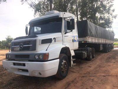 Incautan 33 toneladas de cemento de contrabando en Capitán Bado