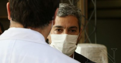 La Nación / Mario Abdo está recuperado tras descompensación por cansancio
