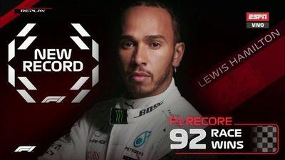 Hamilton supera a Schumacher y es el más ganador de F1