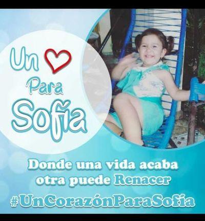 Sofía Abigail requiere urgente trasplante de corazón