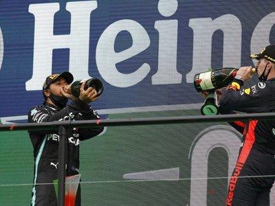 Hamilton gana en Portugal y bate el récord de Schumacher