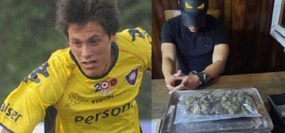 Fiscalía imputa a futbolista detenido con marihuana