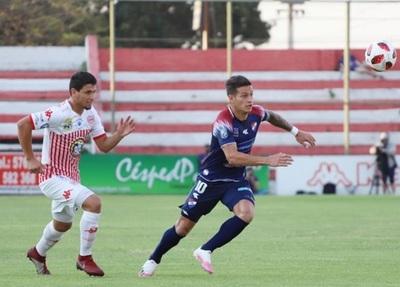 San Lorenzo y Nacional no se sacan ventajas