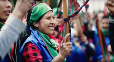 Escucha el nuevo himno de la Guardia Indígena.