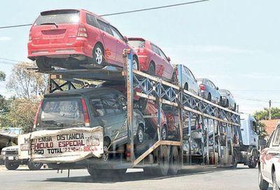 ONU alerta de la polución de autos usados exportados a países pobres