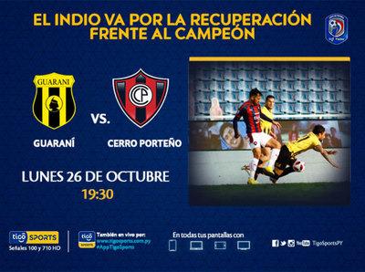 Guaraní y Cerro Porteño cierran la segunda fecha del Clausura