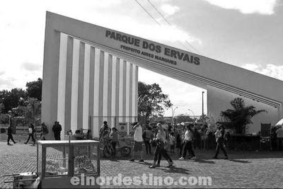 Después de un tiempo cerrado debido a la pandemia del Covid19, el Parque dos Ervais regresó con sus actividades esta semana