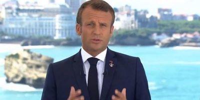 Macron es el objetivo de la ira del Islam