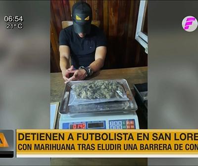 Detienen e imputan a jugador por tenencia de drogas