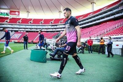 Pablo Aguilar volvió a jugar después de 8 meses