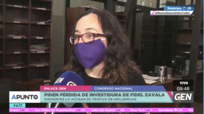 HOY / Dirigentes del Partido Comunista y del P-MAS solicitan la pérdida de investidura del senador Fidel Zavala