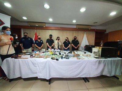 Agentes penitenciarios, sumariados por laboratorio de drogas en penal