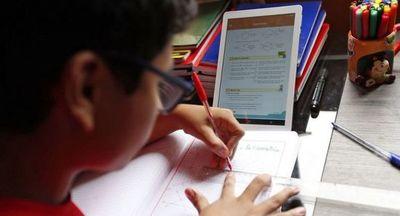 A más de 100.000 alumnos no alcanzó el sistema de educación virtual