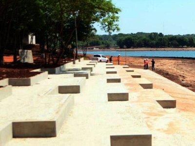 Primera playa inclusiva en Ciudad del Este registra avance del  30%