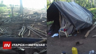 DESALOJAN A 22 FAMILIAS INDÍGENAS DE UNA PROPIEDAD EN M. OTAÑO