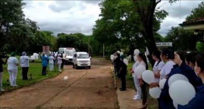 Itapúa despide a la primera enfermera víctima del covid