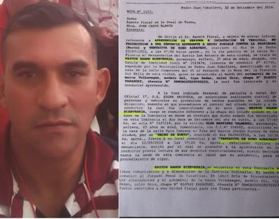 Divulgan antecedentes policiales por tentativa de robo agravado de abogado 360 en PJC