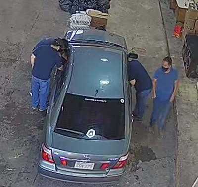"""Aduana dice que ENVIARA fotos y videos de los """"DESCONOCIDOS"""" que cobraban COIMAS  CONTRABANDISTAS"""