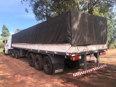Siguen tras la pista del dueño de las 33 toneladas de cemento ingresadas de contrabando