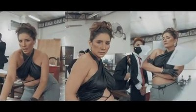 El sensual vídeo de Deisi Giménez en la piel de Jennifer López