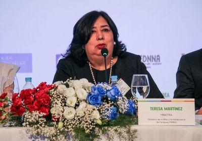Ministra de la Niñez ocupará alto cargo en importante organismo internacional