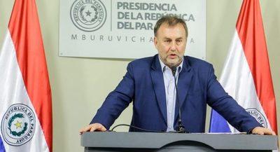 Benigno López renuncia al cargo de ministro de Hacienda para seguir camino al BID