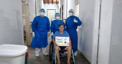 La Nación / Paciente con enfermedad de base vence al COVID-19 en el Hospital de Lambaré