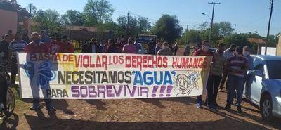 Piden solución ante la acuciante falta de agua de Paraguarí