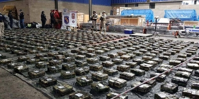 HOY / Ordenan incinerar las casi 3 toneladas de cocaína incautada en Villeta