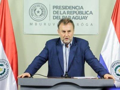 Benigno López oficializó su renuncia a Hacienda