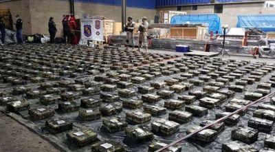 Mañana incinerarán las casi 3 toneladas de cocaína incautada en Villeta